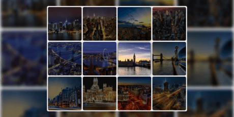 css javascript gallery transition effects