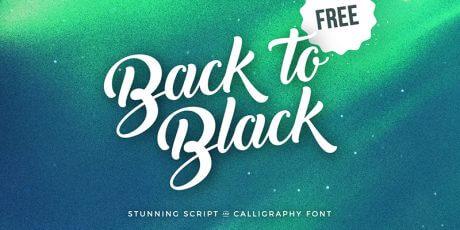 cursive calligraphy font
