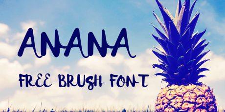 free brush font