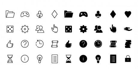 general line icons set