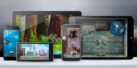 ios android html5 visual game creator