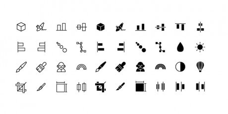 line graphics icons