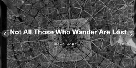 minimalist blogging wordpress theme