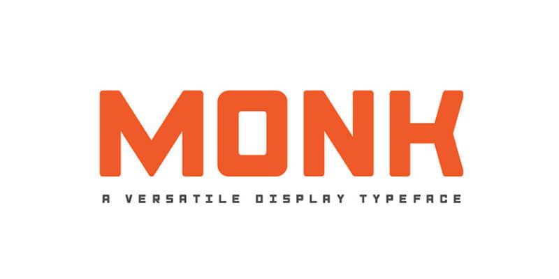 modern bold display typeface