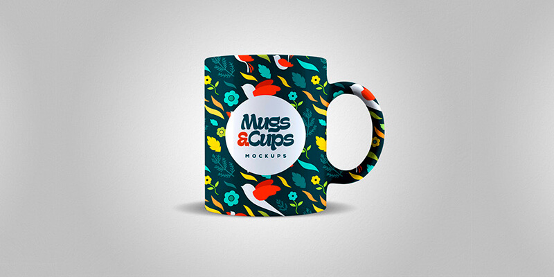 Mugs & Cups PSD Mockups | Bypeople