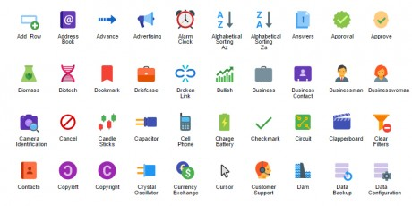 svg icons collection