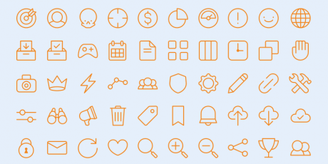 all purpose icons sketch