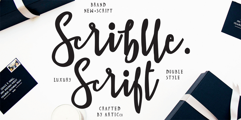 Scriblle: Hand-lettered Script Font - ByPeople