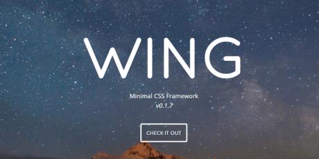minimalistic css framework