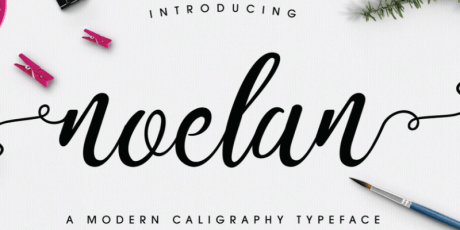 modern caligraphy typeface