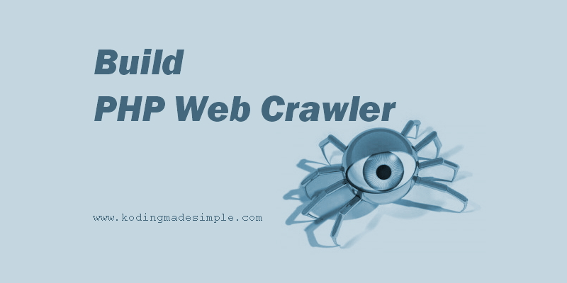 Writing a web crawler in php