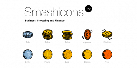 170 retro business icons