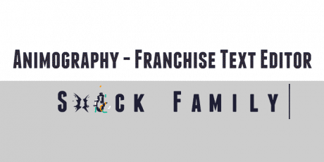 animography franchise text editor