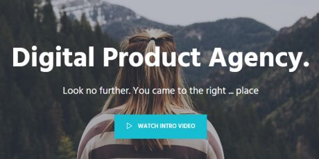 fluid one page bootstrap theme