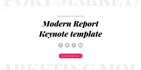 keynote template