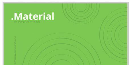 material multipurpose keynote template