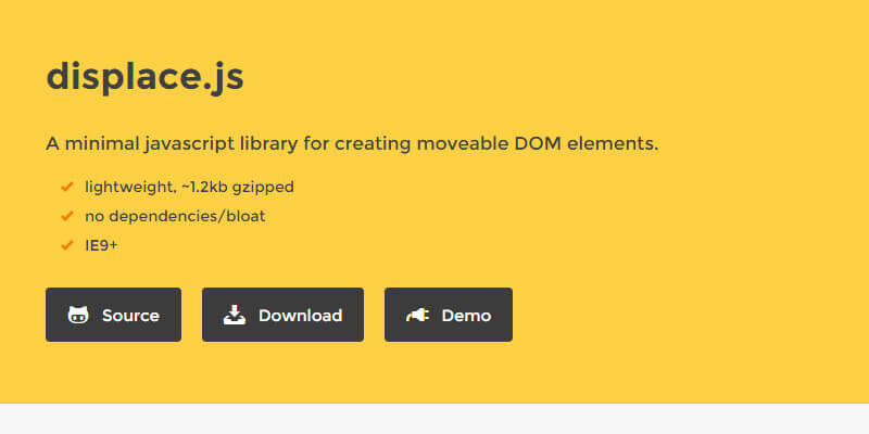 movable dom objects javascript library