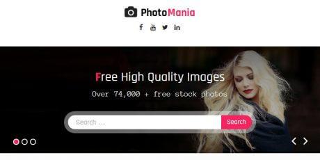 photography fashion wordpress theme