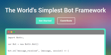 simple bot framework