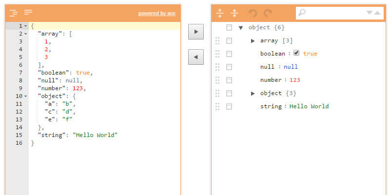 JSON Editor: Visual JSON Formatting Chrome Extension | Bypeople