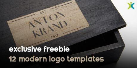 12 free vector logo templates