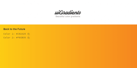 beautiful colored gradients