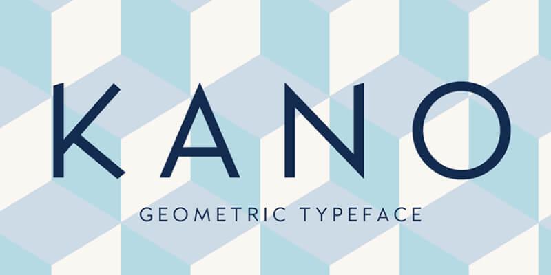 geometric sans serif typeface