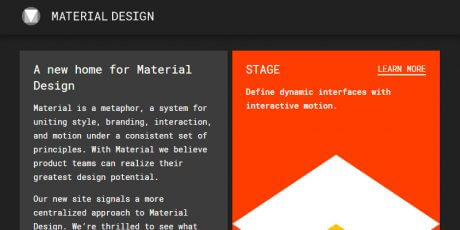 material design unified playground