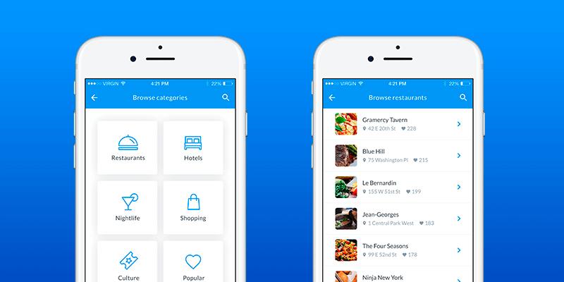 cityguide  mobile app template
