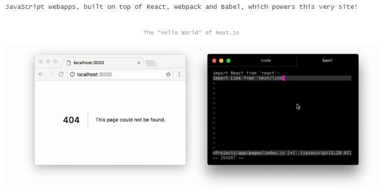 Next js: Simple Server-rendered JavaScript Framework | Bypeople