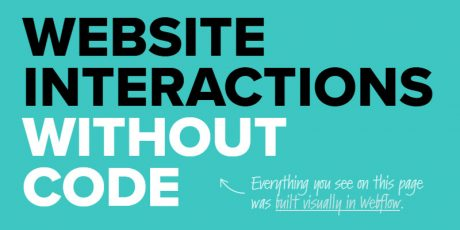 ux animations interactions web tool
