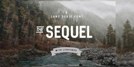 condensed sans serif poster font