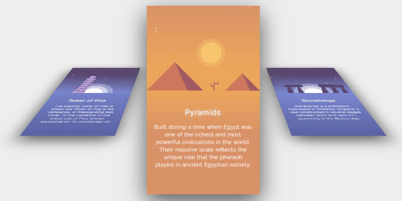 CSS 3D Cards Hover Effect | Bypeople