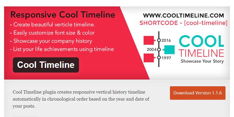 dinamic timeline wordpress plugin
