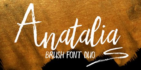 free brush handwritten font