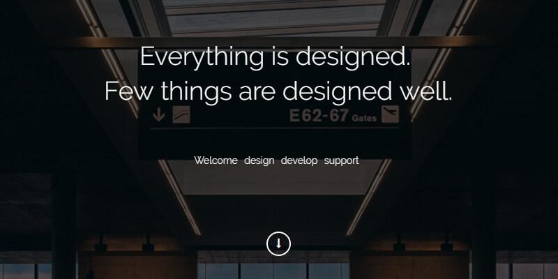 Exigo: Free Creative Portfolio HTML5 Template | Bypeople