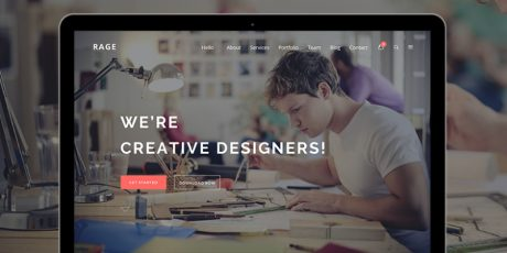 freelancers digital agency psd template