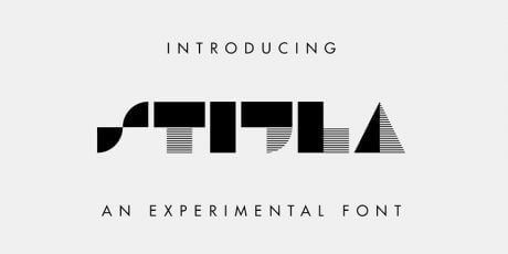 geometric contemporary free font