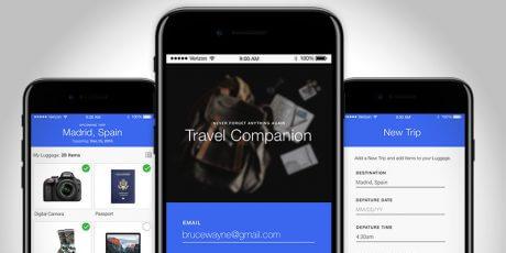 mobile app sketch ui template