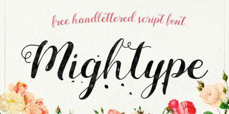 script hand lettered otf font