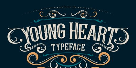 vintage poster typeface