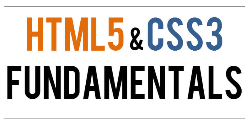 Html5 Css Fundamentals Pdf Ebook Bypeople