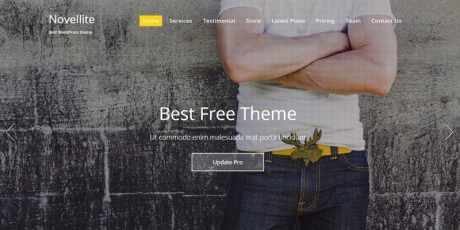 responsive startup one page wordpress theme