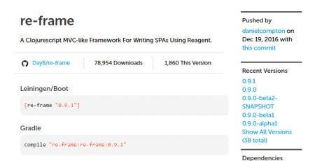 single page applications javascript framework