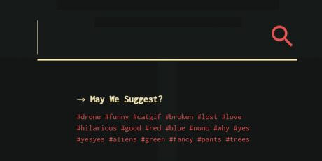 css search ui effect snippets