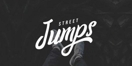 free script street typeface