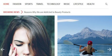 free stylish magazine wordpress theme