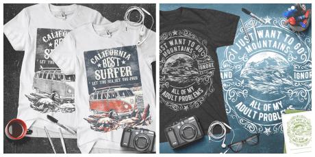 3c22c5f7 1100+ Vintage/Retro Designs Bundle: T-Shirts, Illustrations, Badges ...