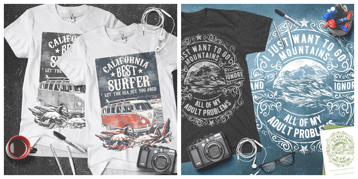 1de3c781 Today's deal is a really cool collection of 100 t-shirt designs regularly  priced $1140 available just for $29USD. These designs are the creations of  the ...