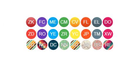 avatar images user names